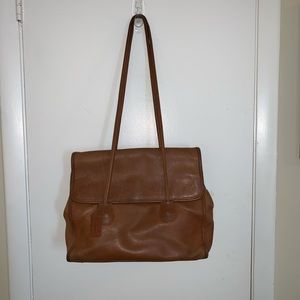 Vintage Genuine Leather Coach Bag